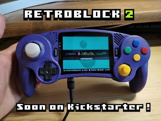 retroblock portátil retro gamecube