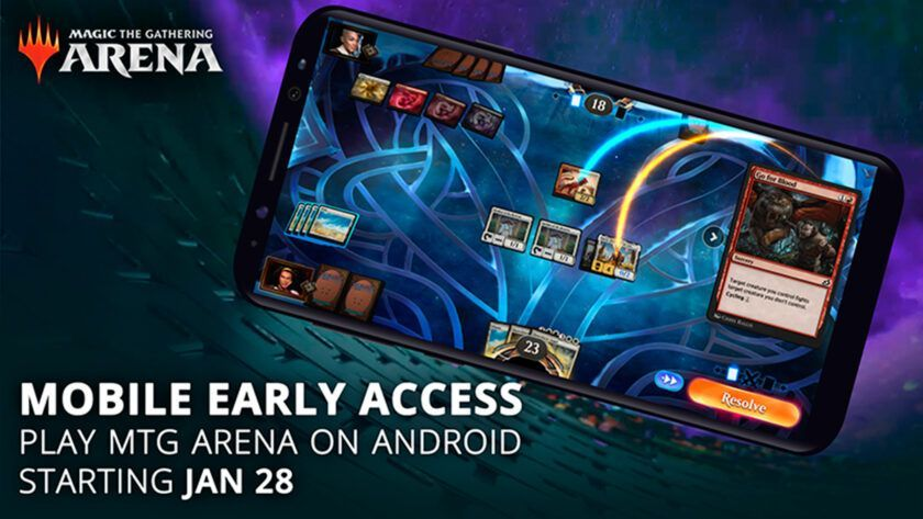 magic arena android ios acceso anticipado
