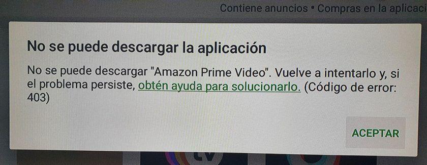 error 403 google play