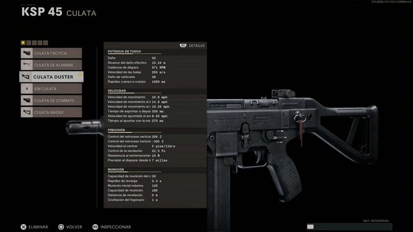 mejor clase KSP45 call of duty black ops cold war