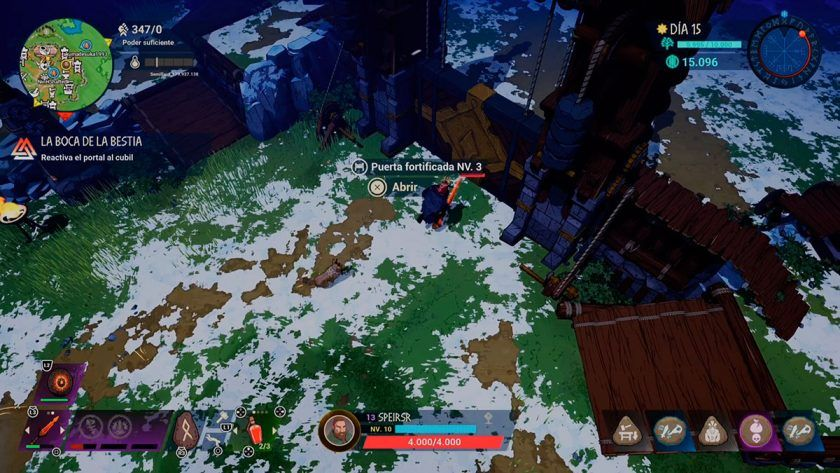 puerta nivel 3 guía tribes midgar saga