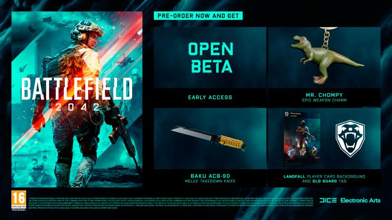 contenido edición estándar battlefield 2042 beta