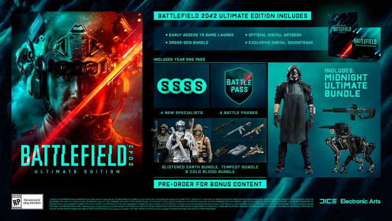 contenido edición ultimate battlefield 2042 beta